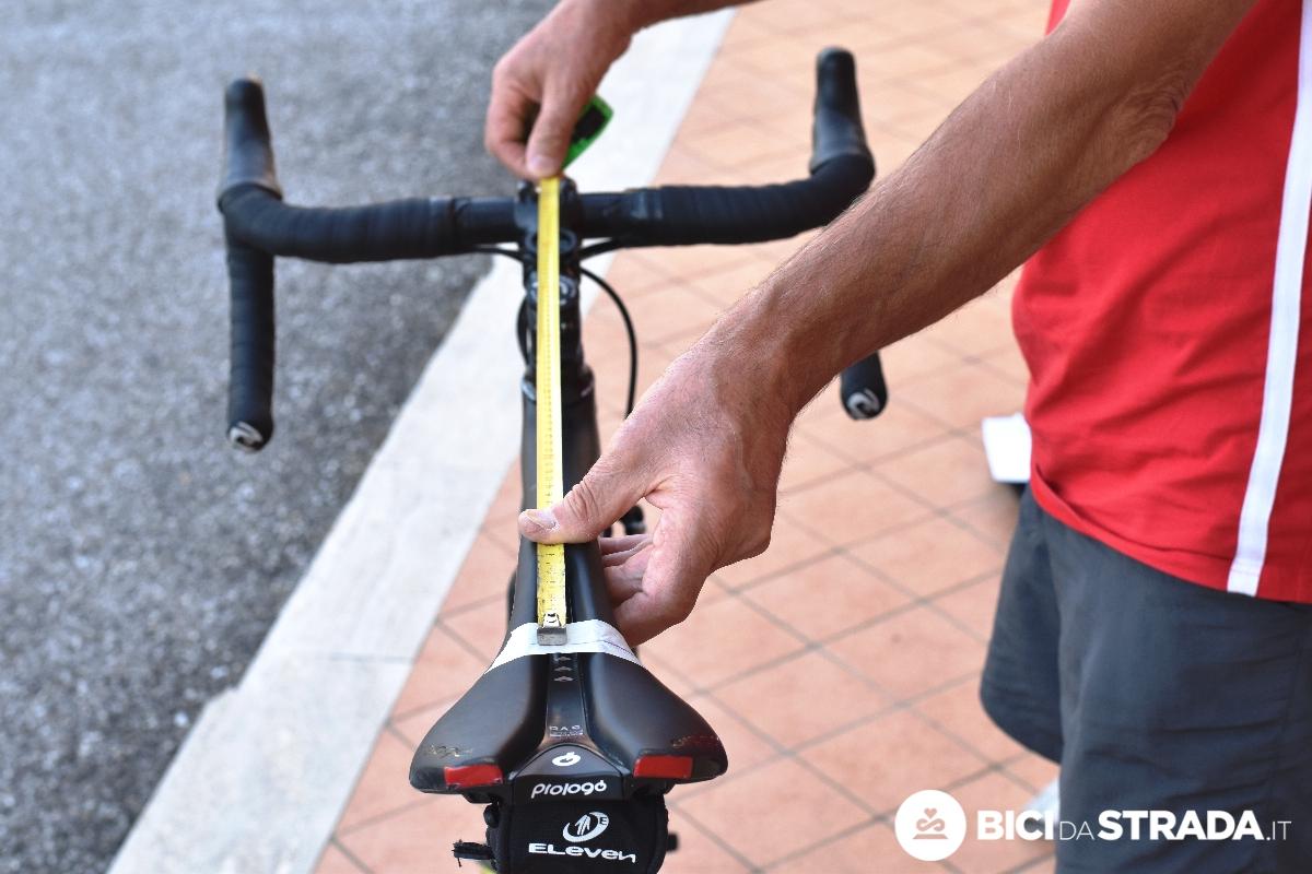 come riportare le misure da una bici ad un'altra