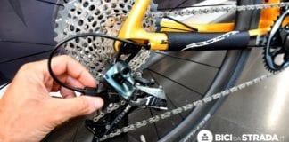 regolare il cambio della bici