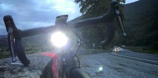 night riding in bici da strada