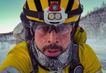 Omar Di Felice verso Capo Nord