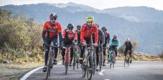 Uscire in bici in gruppo