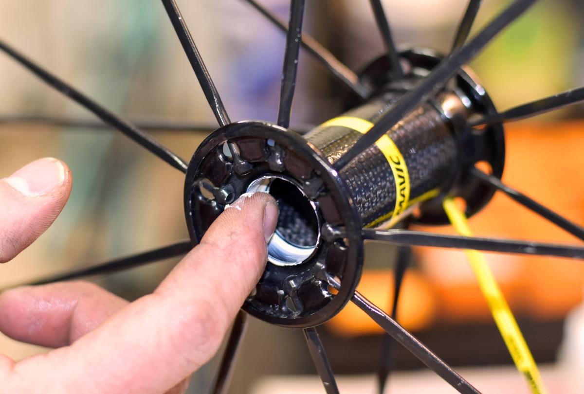 Manutenzione straordinaria della bici