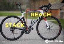 Reach, stack e geometrie del telaio