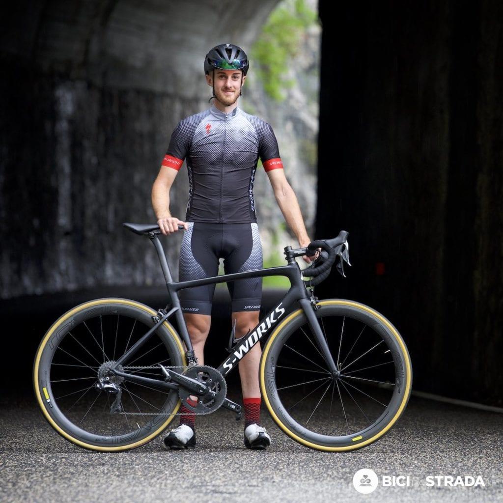 passione infinita per la bici da strada