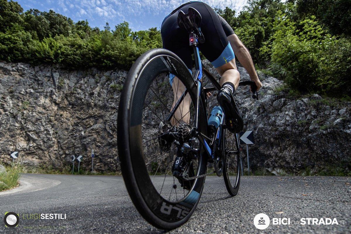 cambiare gomme della bici