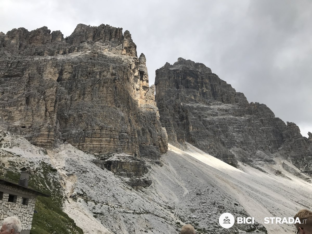 Bici da strada aero in montagna