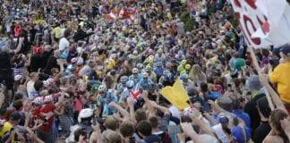 caduta Nibali all'Alpe D'Huez