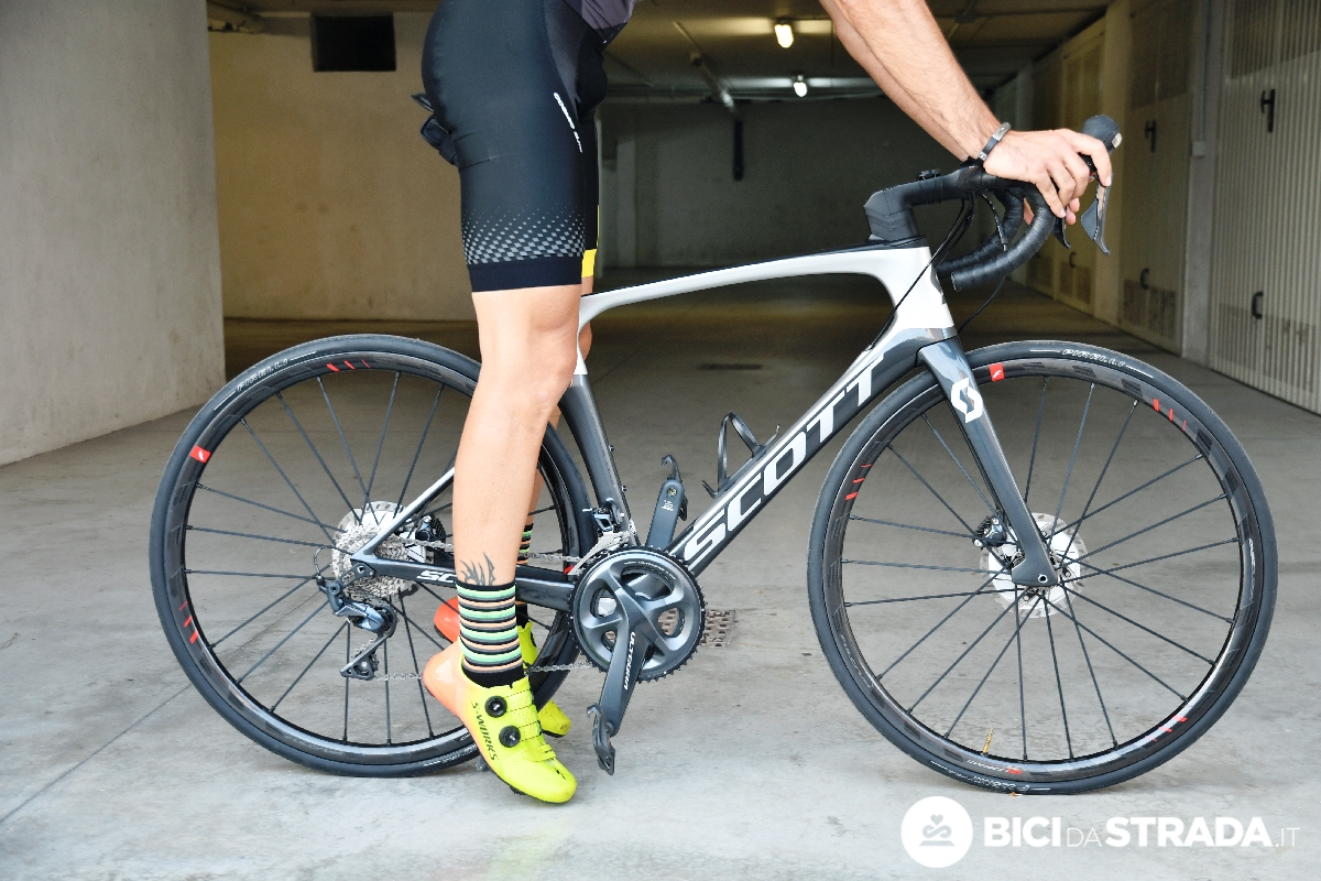 altezza sella della bici da corsa