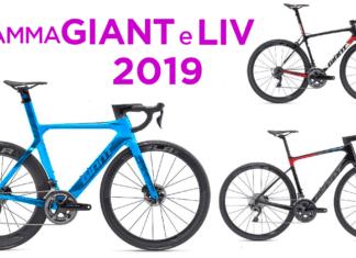 bici da strada Giant 2019