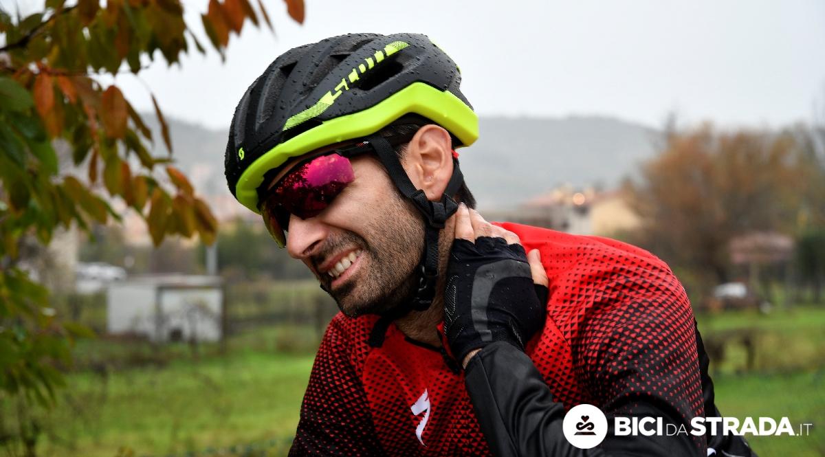 dolore al collo in bici da corsa
