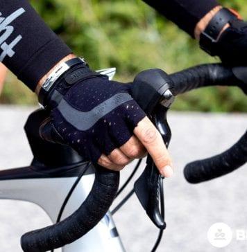 Formicolio alle mani in bici