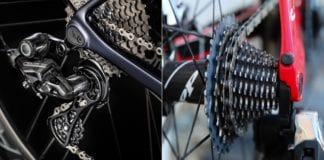 12 velocità sulla bici da corsa
