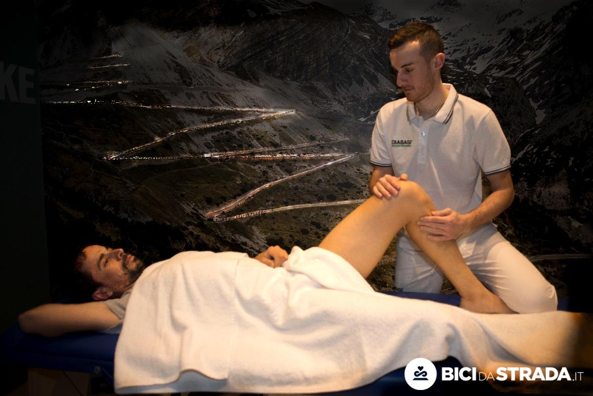 massaggio sportivo per i ciclisti