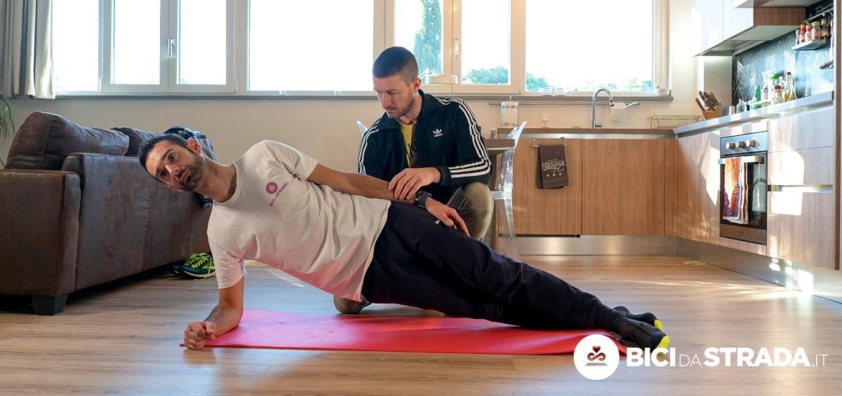 esercizi per avere meno dolori alla schiena