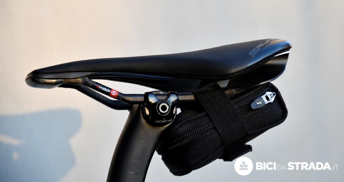 Borsetta sottosella bici in nylon porta camera d/'aria On Bike