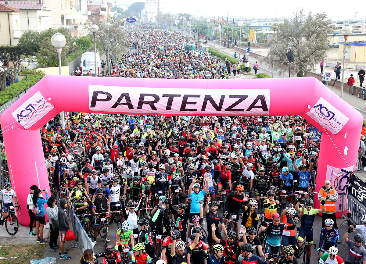 Percorso modificato per la Granfondo Via del Sale