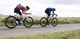 allenamento in bici