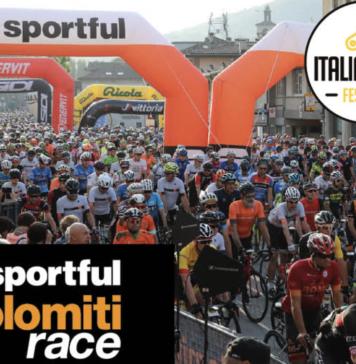 Iscrizioni alla Sportful Dolomiti Race 2020