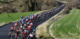 Stop anche ai ciclisti professionisti