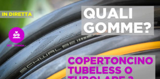 tubeless sulla bici da strada