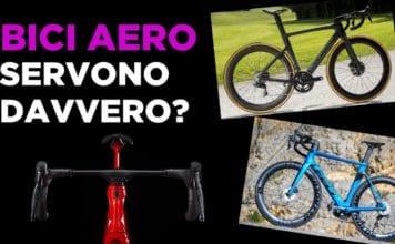 Come vanno le bici aero