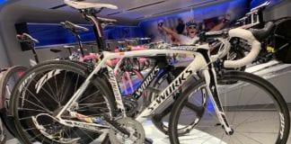 Specialized Tarmac di Contador