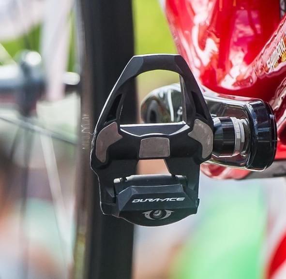 dettagli dei pedali SHIMANO