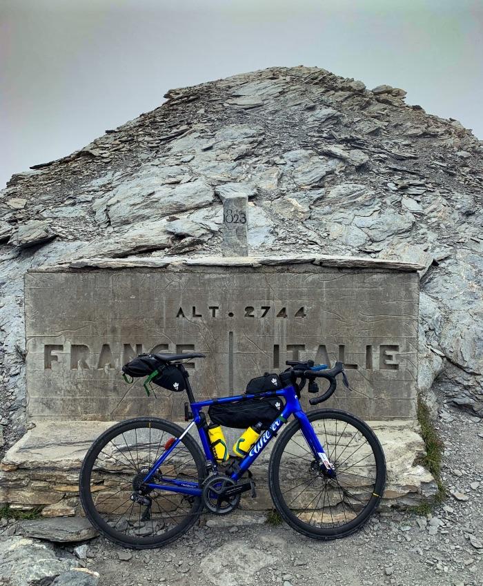 traversata delle Alpi di Omar Di Felice