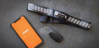 fascia cardio Bluetooth con Strava