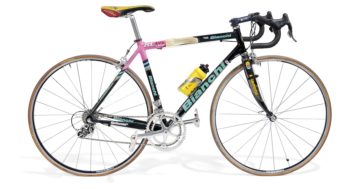 Bianchi originali di Marco Pantani
