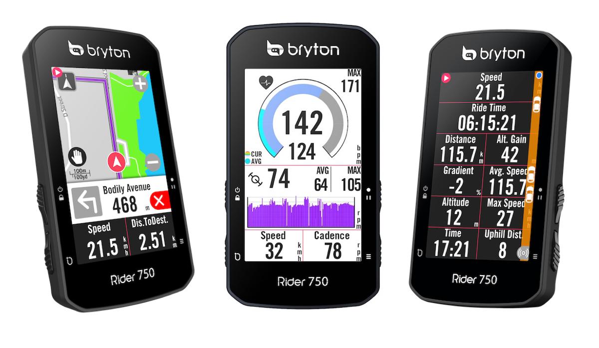 Nuovo Bryton Rider 750: navigazione, allenamenti evoluti, sicurezza...