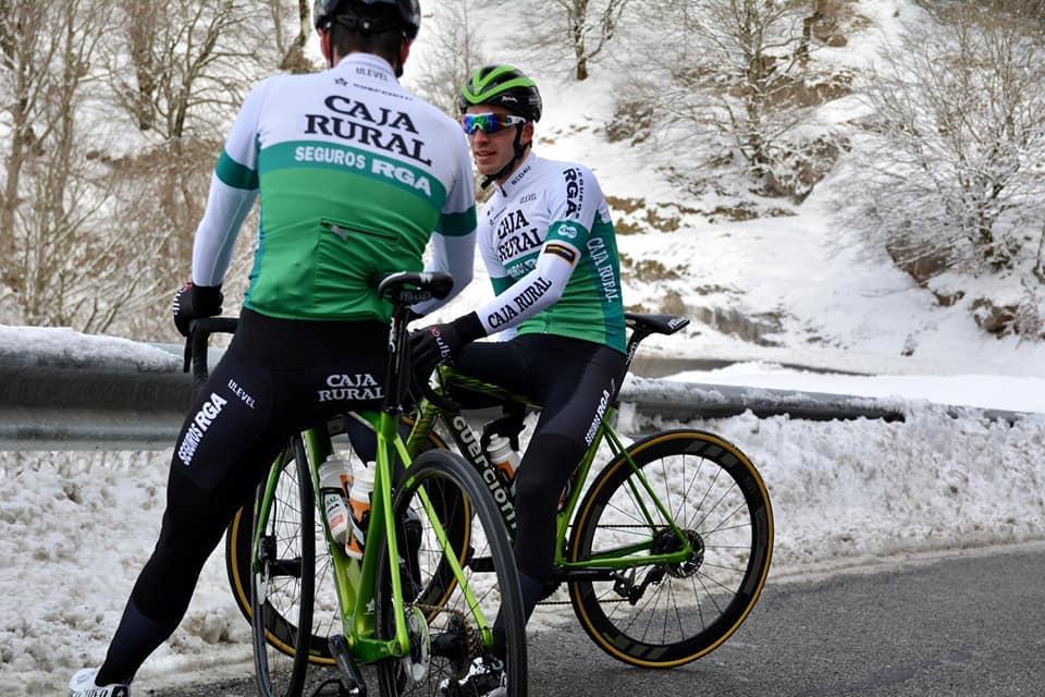 bici Guerciotti della Caja Rural