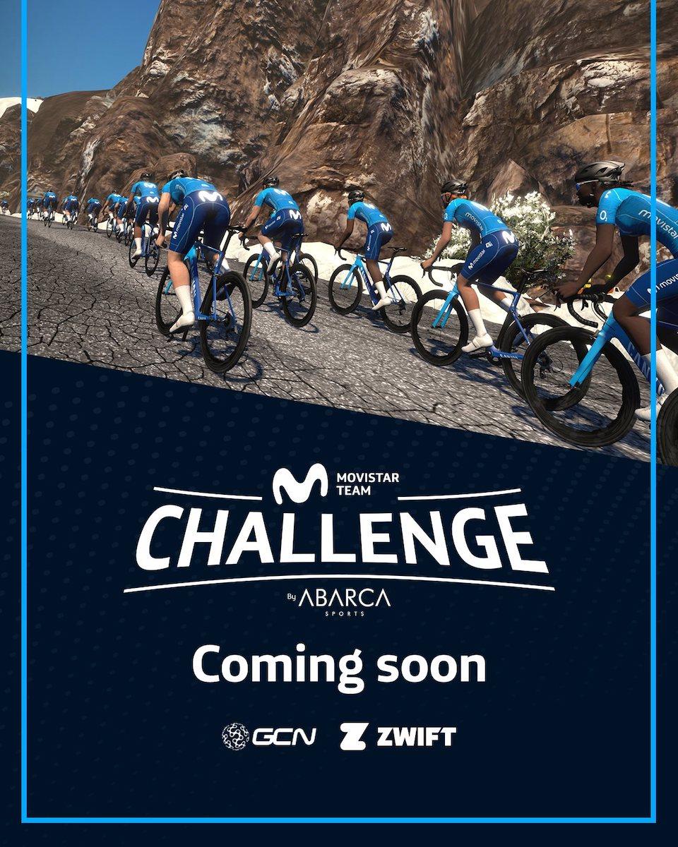 Canyon ufficiale del Team Movistar