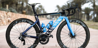 Canyon ufficiale del Team Movistar