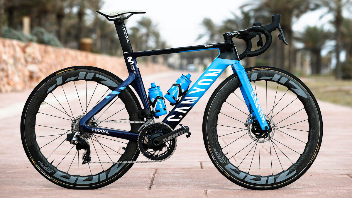 Le bici dei team World Tour 2021