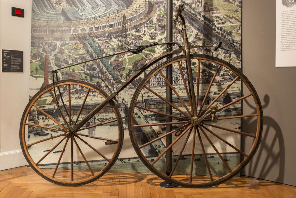 origini della bicicletta in Italia