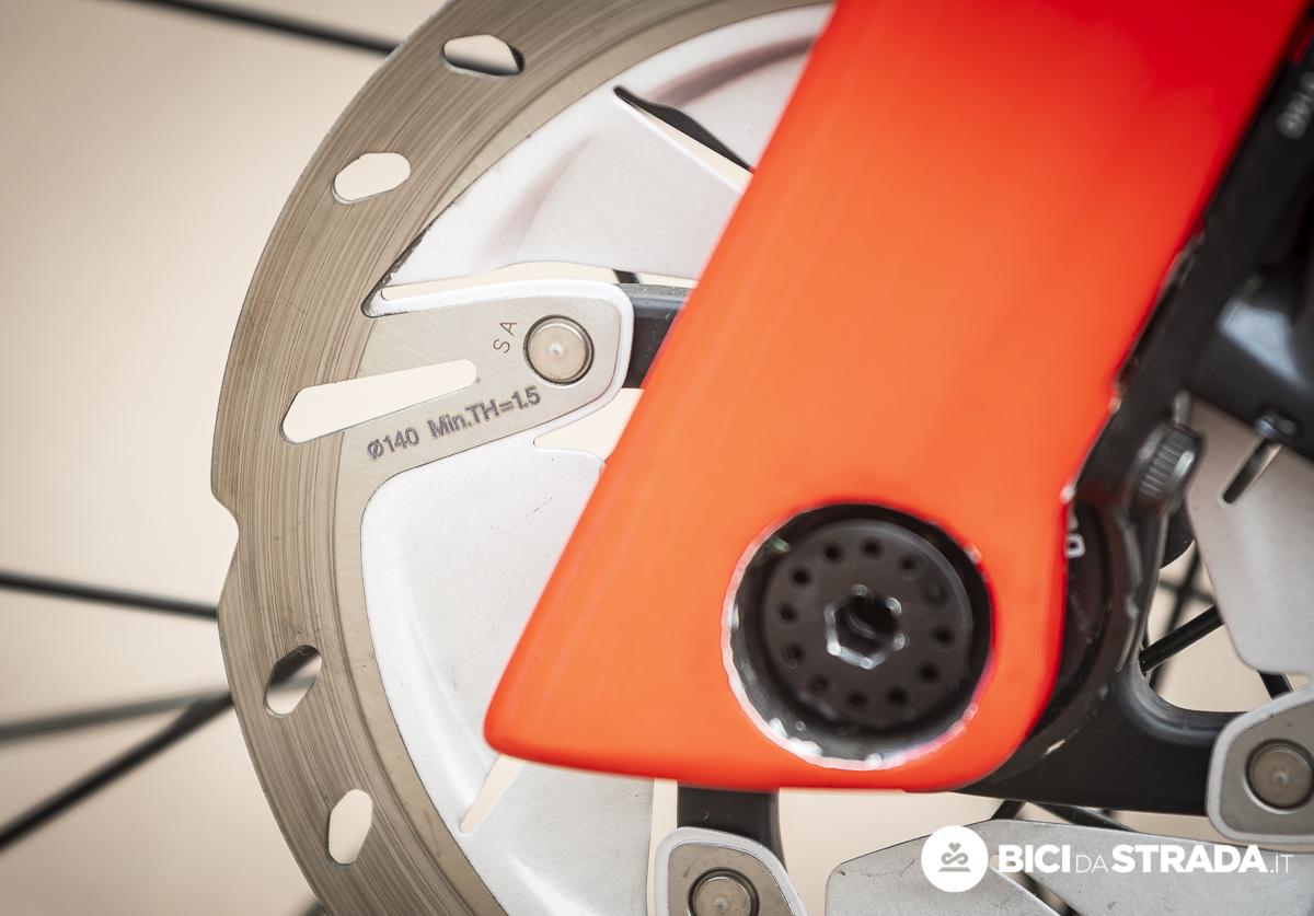 scegliere la dimensione dei dischi sulla bici