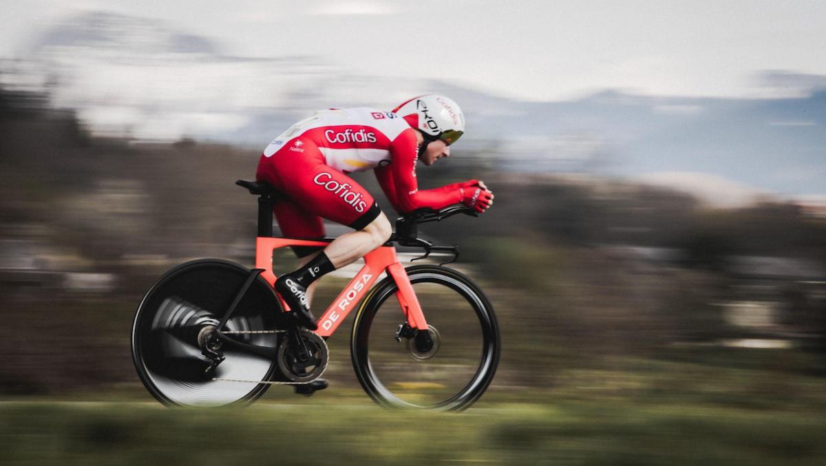 Nuova De Rosa TT Disc: il debutto al Giro nella crono di Torino