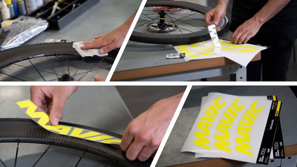 Mavic e Slik Graphics: insieme per la personalizzazione delle ruote