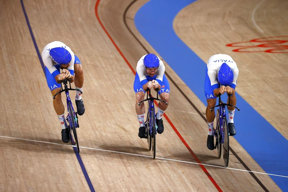 La velocità del quartetto km per km