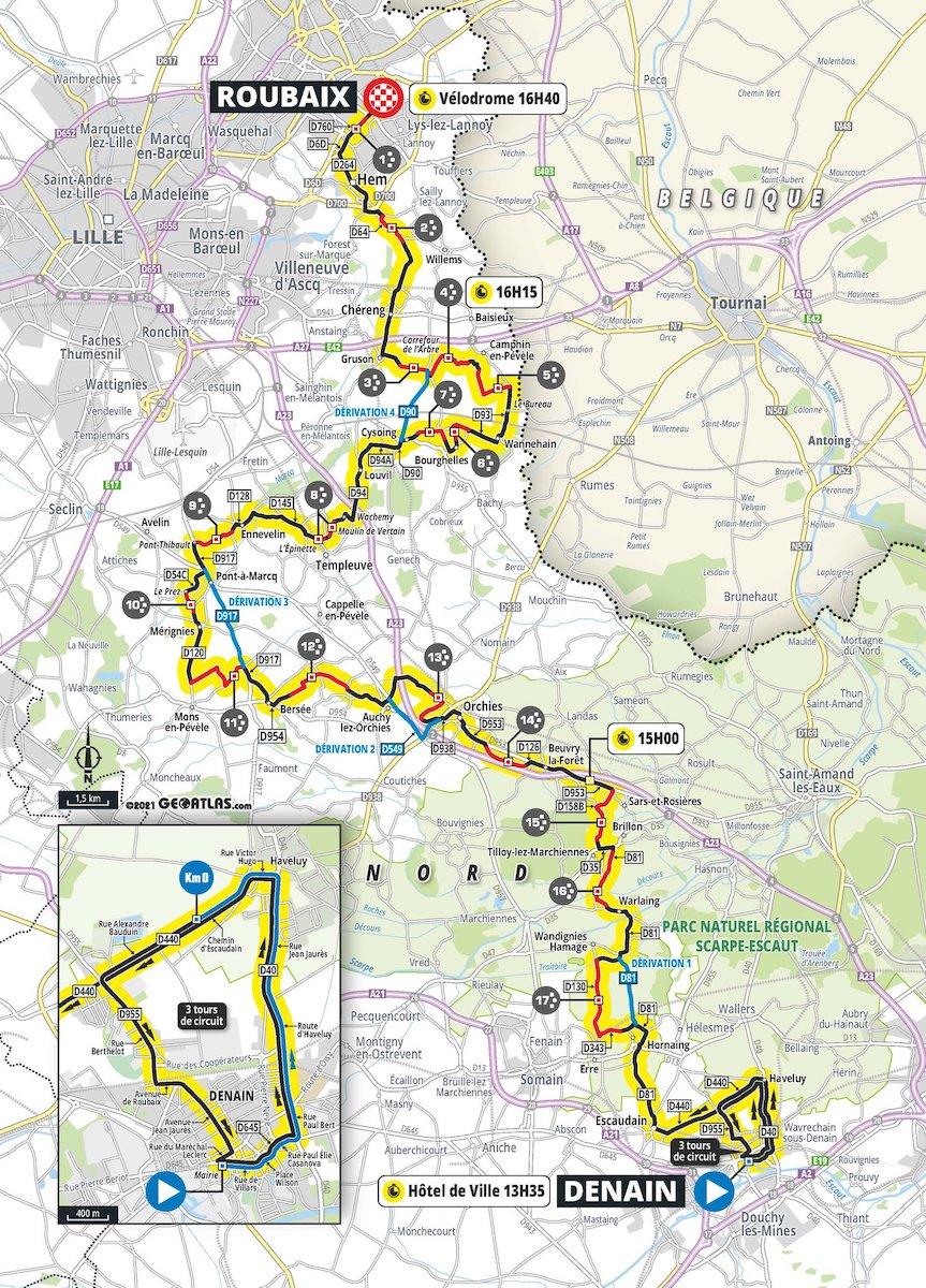 Paris Roubaix 2021femminile