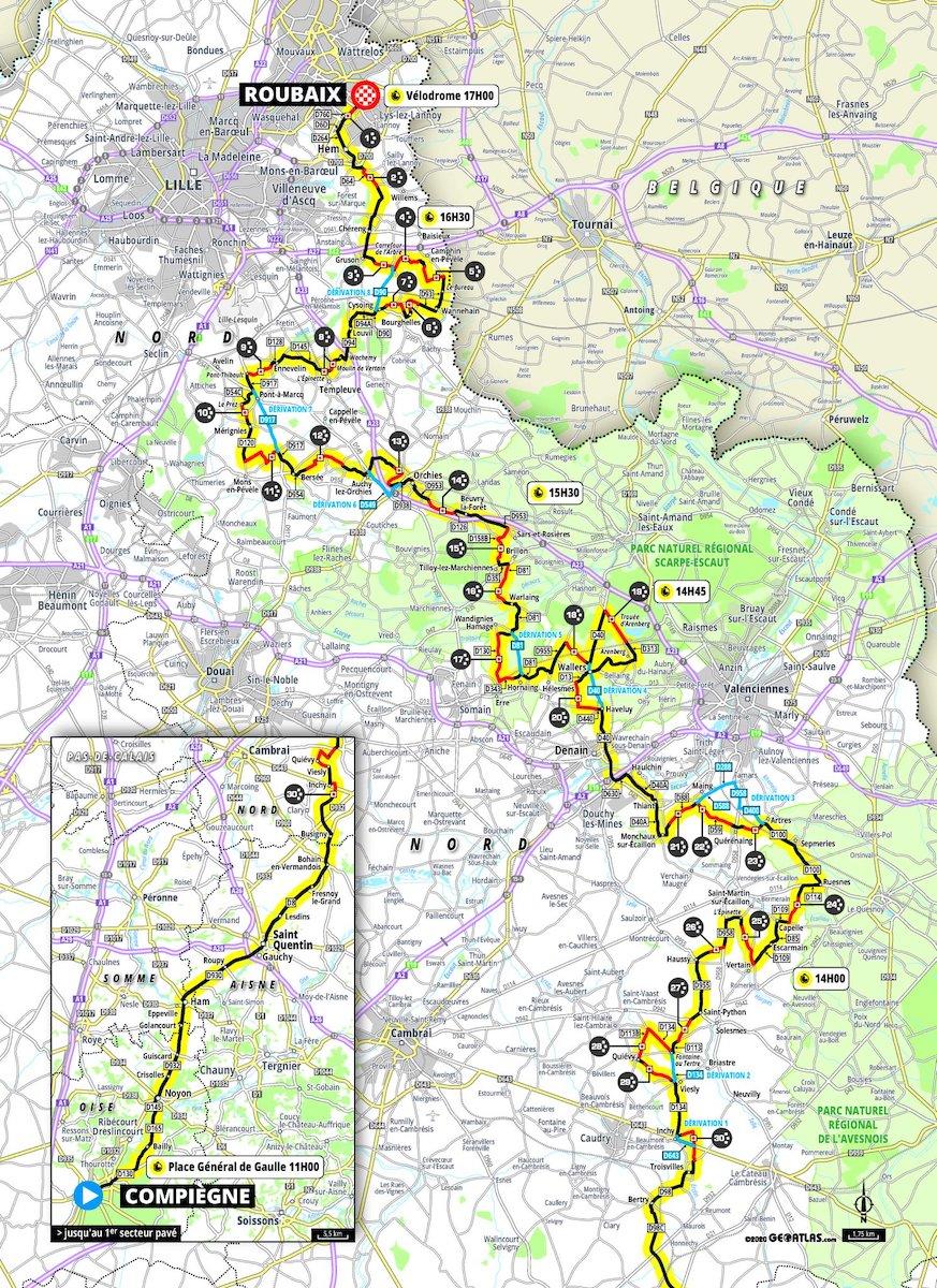 Parigi Roubaix 2021