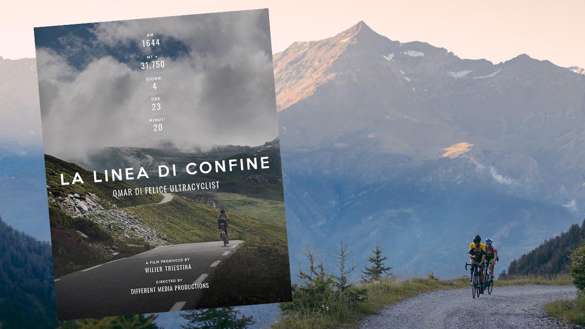 VIDEO – La Linea di Confine, la traversata delle Alpi insieme ad Omar Di Felice