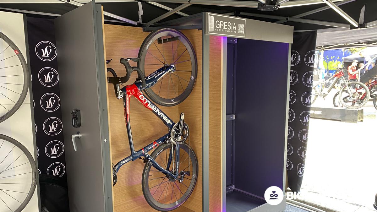 cassaforte per bici