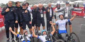 Paralimpiadi Tokyo Team Relay