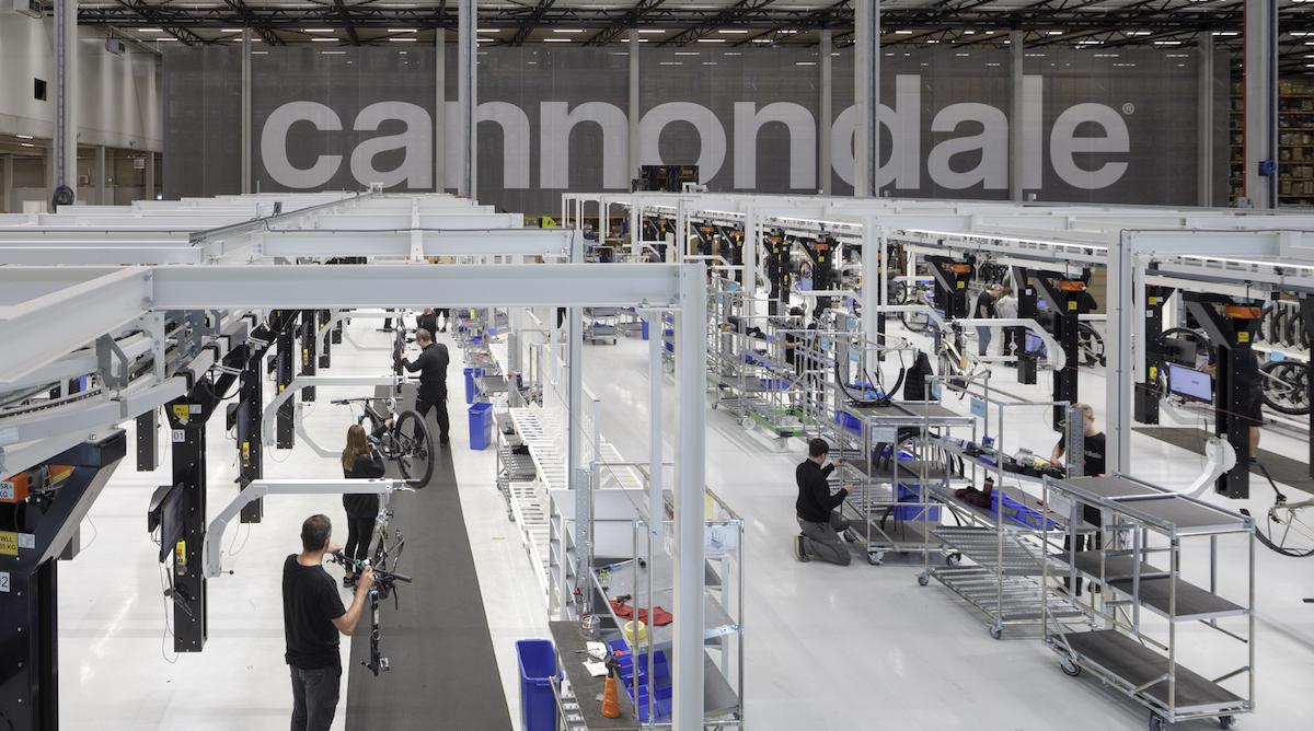 Cannondale apre due nuovi stabilimenti produttivi. E non in Asia